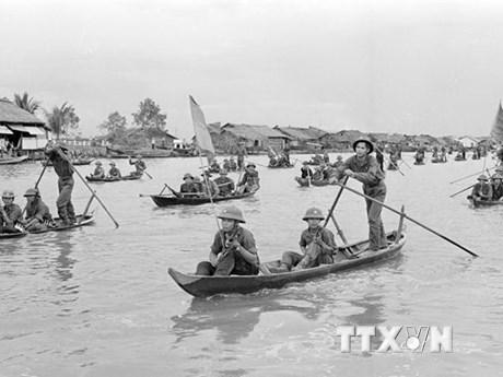 Giải phóng thị xã Cà Mau - ngày non sông nối liền một dải | Xã hội | Vietnam+ (VietnamPlus)