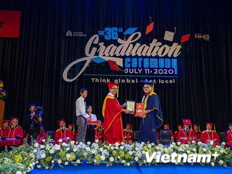 Đại học Hoa Sen cấp bằng tốt nghiệp theo công nghệ blockchain quốc tế   Giáo dục   Vietnam+ (VietnamPlus)