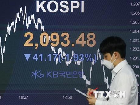 Chứng khoán châu Á tăng do nhà đầu tư mua cổ phiếu có triển vọng | Chứng khoán | Vietnam+ (VietnamPlus)
