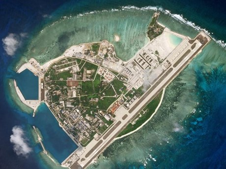Quốc tế phản ứng về việc cải tạo của Trung Quốc tại Biển Đông