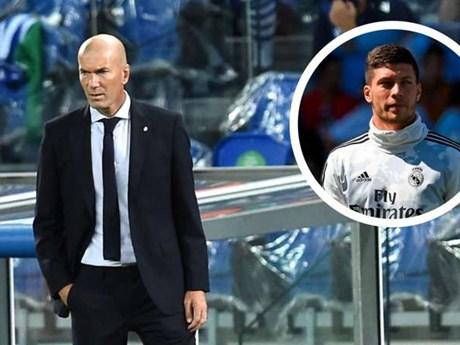 Zidane lên tiếng về việc có hiềm khích với Luca Jovic