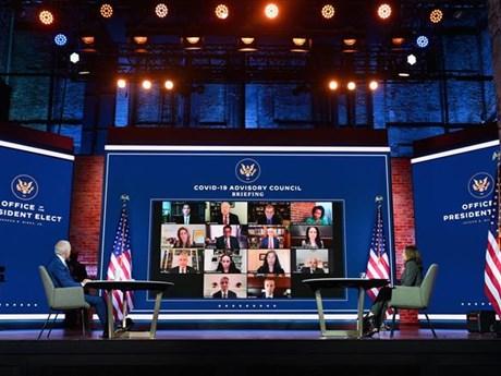 Ông Biden công bố đội ngũ cố vấn phòng, chống dịch bệnh COVID-19