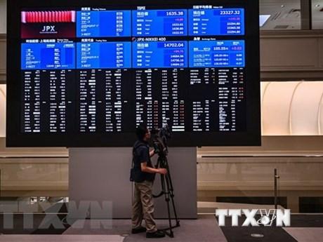 Xu hướng đi xuống chi phối các thị trường chứng khoán châu Á