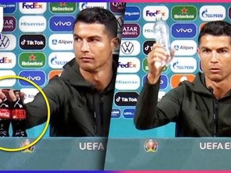 EURO 2020: Ronaldo và Coca-Cola: Cuộc chiến giữa hai thương hiệu