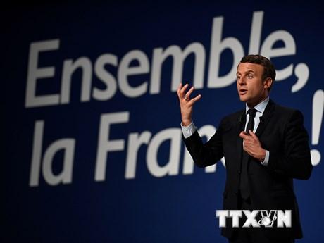 Ứng viên Tổng thống Pháp Macron hướng tới nhóm cử tri nông dân