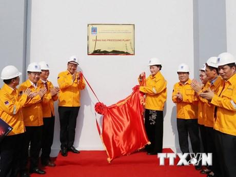 Hình ảnh Chủ tịch Quốc hội dự khánh thành Nhà máy xử lý khí Cà Mau