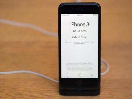 Vượt iPhone X và Galaxy S9, iPhone 8 là mẫu điện thoại bán chạy nhất