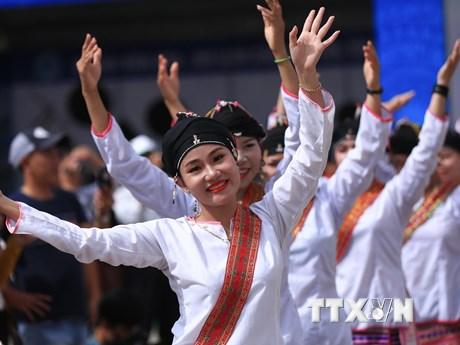 Những hình ảnh đẹp trong Ngày hội văn hóa các dân tộc miền Trung