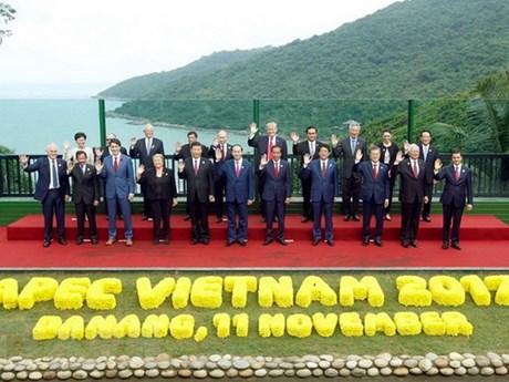 Hình ảnh Chủ tịch nước Trần Đại Quang với các nhà lãnh đạo thế giới