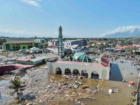 Những hình ảnh ám ảnh về thảm họa động đất, sóng thần ở Indonesia