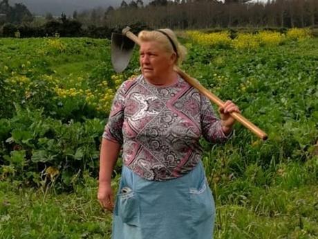 Nữ nông dân trồng khoai ở Tây Ban Nha nổi tiếng vì giống ông Trump