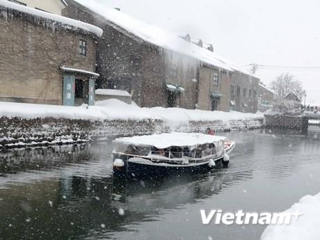 [Photo] Đắm chìm trong mùa Đông Hokkaido trên kênh Otaru