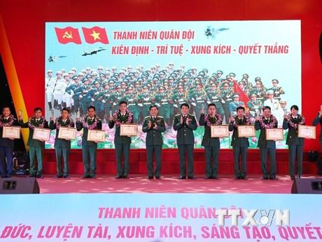 Tuyên dương gương mặt trẻ tiêu biểu toàn quân năm 2018   Xã hội   Vietnam+ (VietnamPlus)