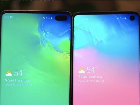 Samsung phát triển điện thoại với camera 'selfie' ẩn dưới màn hình | Sản phẩm mới | Vietnam+ (VietnamPlus)