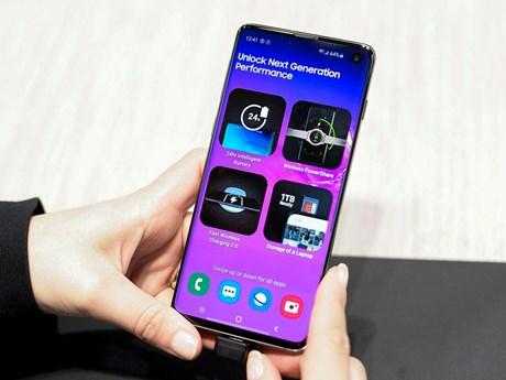Samsung đạt doanh số 1 triệu chiếc Galaxy S10 khi lợi nhuận sụt giảm | Công nghệ | Vietnam+ (VietnamPlus)
