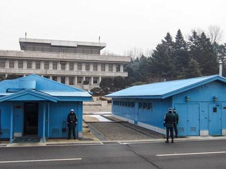 Hàn Quốc nối lại cho người dân tới thăm làng đình chiến | Đời sống | Vietnam+ (VietnamPlus)