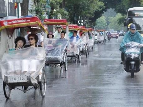 Khu vực Bắc Bộ và Hà Nội giảm mưa, trời hửng nắng từ chiều nay | Môi trường | Vietnam+ (VietnamPlus)