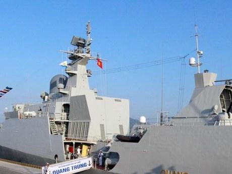 Tàu Hải quân Việt Nam tham gia Diễn tập ADMM+ tại Singapore   Chính trị   Vietnam+ (VietnamPlus)