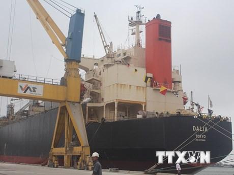 Thanh Hóa khai trương tuyến dịch vụ vận tải container quốc tế | Kinh doanh | Vietnam+ (VietnamPlus)