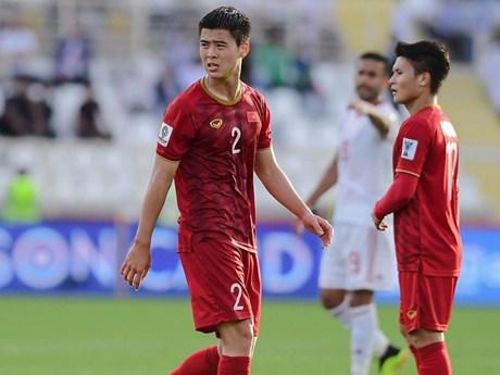 Duy Mạnh không kịp bình phục chấn thương, bỏ lỡ King's Cup 2019 | Bóng đá | Vietnam+ (VietnamPlus)