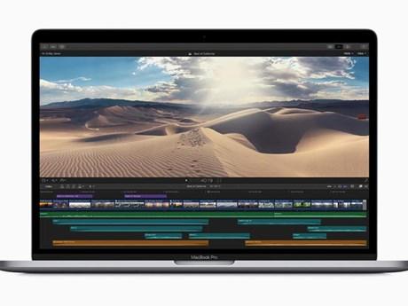 Apple phát hành các mẫu máy tính MacBook Pro với bàn phím mới | Sản phẩm mới | Vietnam+ (VietnamPlus)