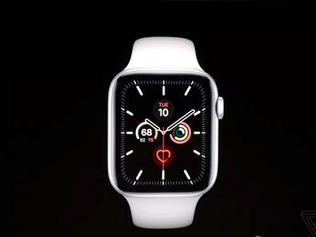 Apple Watch Series 5 có màn hình luôn bật và thêm vỏ titan, gốm