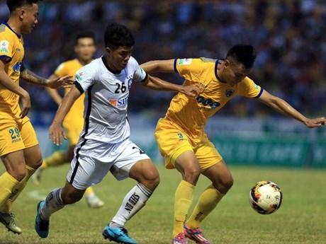 V-League 2019: SHB Đà Nẵng hạ gục Thanh Hóa vào phút bù giờ | Bóng đá | Vietnam+ (VietnamPlus)