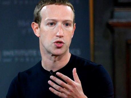 CEO Mark Zuckerberg tiết lộ về ưu tiêu hàng đầu hiện nay của Facebook | Công nghệ | Vietnam+ (VietnamPlus)