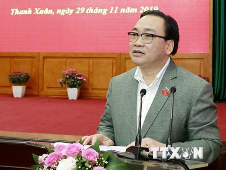 Bí thư Hà Nội: Thí điểm chính quyền đô thị để gần dân hơn   Chính trị   Vietnam+ (VietnamPlus)