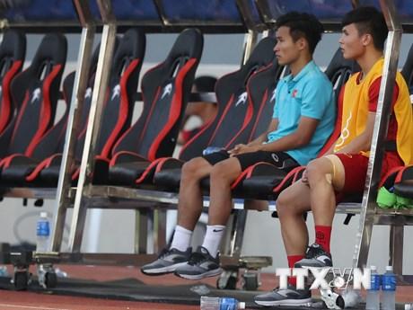 Huấn luyện viên Park Hang-seo trách báo chí đưa tin sai về Quang Hải | Bóng đá | Vietnam+ (VietnamPlus)