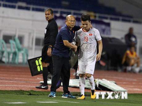 Quang Hải không bị đa chấn thương, nhưng sẽ cần 2 tuần để phục hồi | Bóng đá | Vietnam+ (VietnamPlus)