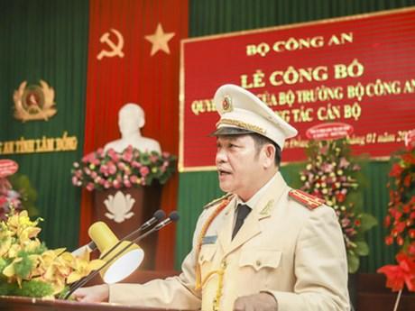 Điều động Phó Giám đốc Công an Đắk Nông làm Giám đốc Công an Lâm Đồng | Chính trị | Vietnam+ (VietnamPlus)
