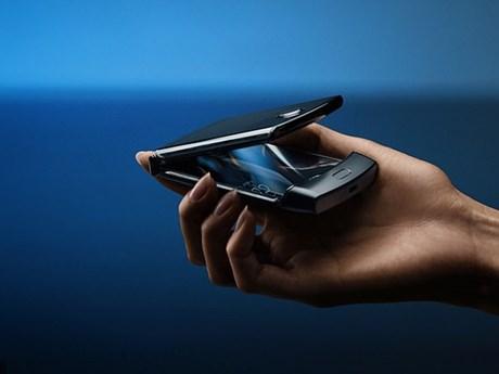 Điện thoại màn hình gập Razr của Motorola