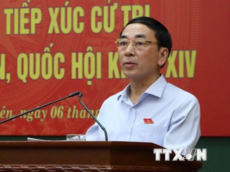 Thủ tướng bổ nhiệm ông Trần Quốc Tỏ làm Thứ trưởng Bộ Công an | Chính trị | Vietnam+ (VietnamPlus)