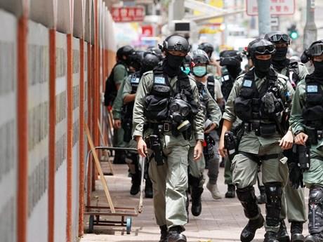 Chính quyền Hong Kong lên án mạnh mẽ biểu tình bạo lực