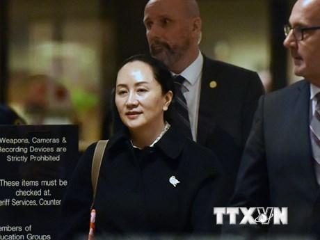 """Vụ dẫn độ CFO của Huawei: Mỹ thắng trong """"hiệp đấu"""" đầu tiên"""