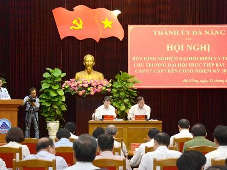 Nhiều kinh nghiệm rút ra qua đại hội điểm cấp trên cơ sở ở Đà Nẵng | Chính trị | Vietnam+ (VietnamPlus)