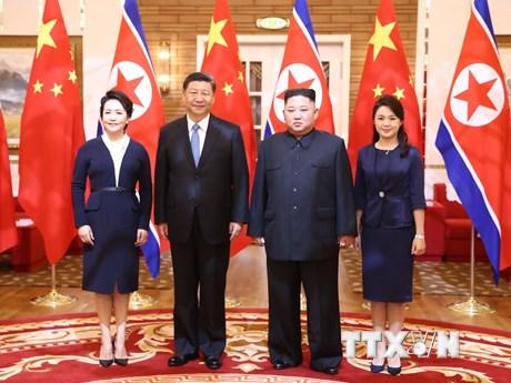 Lãnh đạo Trung Quốc, Nga nhấn mạnh mối quan hệ bền vững với Triều Tiên | Châu Á-TBD | Vietnam+ (VietnamPlus)