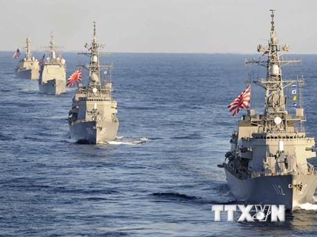 Nhật triển khai sứ mệnh an ninh riêng trên tuyến hàng hải Trung Đông