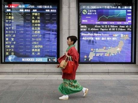 Chứng khoán châu Á hầu hết tăng điểm phiên ngày 12/11 | Chứng khoán | Vietnam+ (VietnamPlus)