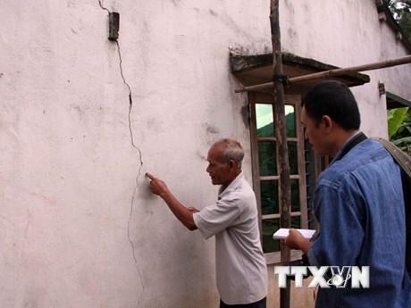 Lại xuất hiện động đất mạnh 2,5 độ Richter tại Bắc Trà My