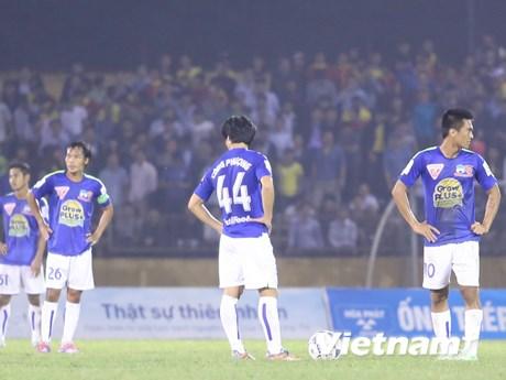 Vòng 10 V-League: Hoàng Anh Gia Lai lại có một trận đấu thất vọng