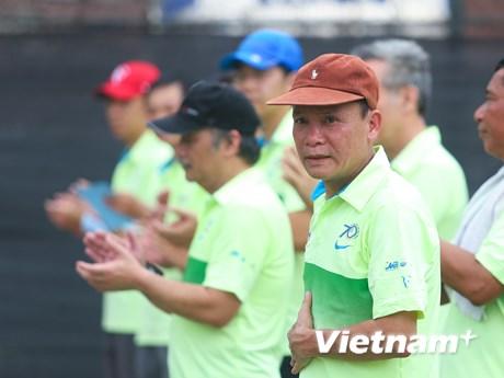 [Photo] Những hình ảnh đẹp tại giải tennis TTXVN mở rộng 2015