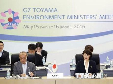 G7 cam kết đóng vai trò đầu tàu trong thực thi Hiệp định Paris