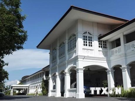Hình ảnh Capella Hotel, nơi diễn ra Hội nghị thượng đỉnh Mỹ-Triều