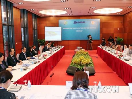 Hình ảnh cuộc họp Ủy ban Phát triển năng lực và Ban Điều hành ASOSAI
