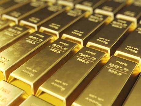 Giá vàng thế giới giảm bất chấp căng thẳng thương mại Mỹ-Trung