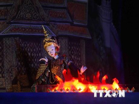 Những hình ảnh đẹp tại Liên hoan Múa rối quốc tế Hà Nội