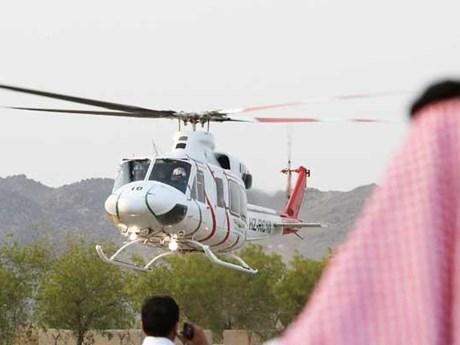 Saudi Arabia triển khai dịch vụ bay bằng trực thăng thu hút du khách   Du lịch   Vietnam+ (VietnamPlus)