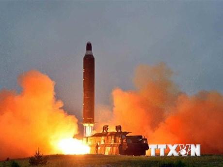 Hàn Quốc cho biết tên lửa Triều Tiên đã bay từ 70-200 km | Châu Á-TBD | Vietnam+ (VietnamPlus)